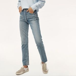 Citizens of Humanity Charlotte high rise jean